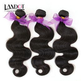 $enCountryForm.capitalKeyWord Canada - Peruvian Human Hair Weave Bundles 100% Unprocessed Peruvian Body Wave Hair 3 Pcs Lot Peruvian Hair Extensions Natural Black Color Dyeable