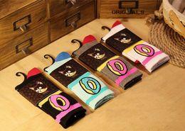 $enCountryForm.capitalKeyWord Australia - Men Women brand odd future donuts wool cotton Long Socks fashion Hiphop Cotton Skateboard fixed gear stockings Sport meias Socks