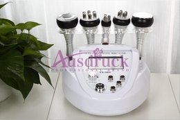 Dissoudre La Graisse Pas Cher-5in1 Liposuccion ultrasonique à ultrasons 40K Cavitation RF Machine à amincir à la dissolution de graisse Vacuum Tripolar Multipolar Skin Lift Body Face façonnage
