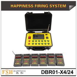 FedEX / DHL Envío gratis, un juego / lote, sistema de disparo remoto de 500M, con sistema de disparo de fuegos artificiales de batería de 24 señales, sistema de fuego pirotécnico, en venta en venta