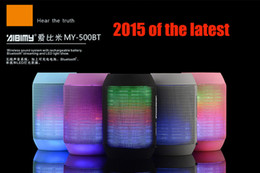 Cellphone wireless bluetooth mini speaker online shopping - Wireless Bluetooth Mini Speaker BT LED Flashing Light Portable Speakers TF USB Disk Music Player Super Bass for Cellphone PC Laptop