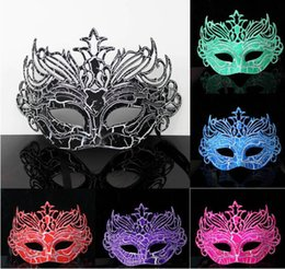 $enCountryForm.capitalKeyWord NZ - 2016 Hot Sale Men Party Mask Cool PVC Masquerade Masks for Easter Graduation Bar Club Crown Masks