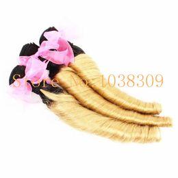 $enCountryForm.capitalKeyWord Canada - Hot sale 100%high quality cheapest super soft super sexy beautiful Aunty Funmi hair ombre two tone color 1b 30,black,1b 613 human hair weft