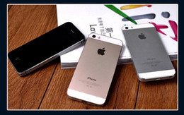 """iphone 5s 16gb black 2019 - Refubished iPhone 100% Original Apple iPhone 5S Smartphone 16G IOS Dual Core 4.0"""" Unlocked Cell Phones DHL free"""