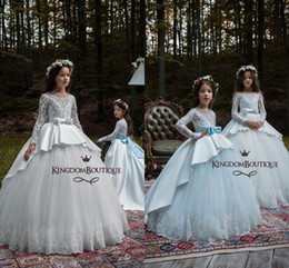 ba117ce6e Discount Floor Length Rhinestone Flower Girl Dress