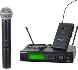 Microfone Sem Fio de alta qualidade Com Melhor Áudio e Som Claro Desempenho da Engrenagem Microfone Sem Fio DHL Frete Grátis venda por atacado