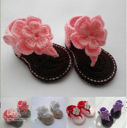 Online De Bebé Sandalia Crochet Flor y8PvNm0Own
