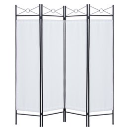 China Best Choice Products Home Accents 4 Panel Room Divider- White suppliers
