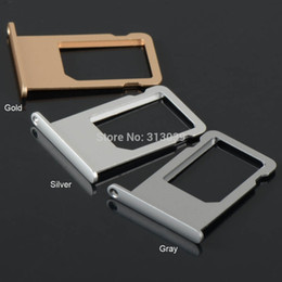 "$enCountryForm.capitalKeyWord NZ - Wholesale-A5 Sim Cards for iphone 6 plus 5.5"" inch Sim Card Tray Slot Holder Sim Cards Gray Silver Gold Free shipping D1523 P"