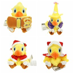 Venta al por mayor de Al por mayor-6inch Chocobo Final Fantasy juguetes de peluche muñeca