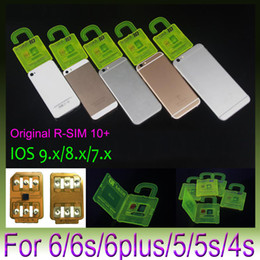 gsm wcdma sim card Australia - Rsim 10+ R-sim 10+ RSIM10+ PLUS Unlock Card For iphone 6S 6 6plus 5s 4s Perfect Unlock AT&T T-mobile Sprint WCDMA GSM CDMA DHL 200pcs lot
