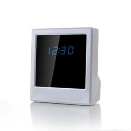 Hidden Cameras Clock NZ - HD 1080P P2P wifi clock camera,wireless hidden alarm camera clock,wifi clock hidden camera for iphone and Android