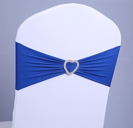 $enCountryForm.capitalKeyWord Canada - Wholesale-Navy Blue Lycra Chair Bands&Sash with Oval buckle ,Double Layer Lycra Bands&Sash for Weddings Events Decoration
