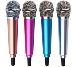 $enCountryForm.capitalKeyWord Canada - Mini microphone Sound Studio Recording KTV Karaoke Wired Mic for PC computer cell phone iphone android samsung note 5