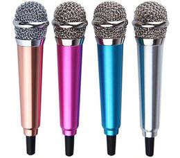 Mini mikrofon Ses Stüdyo Kayıt KTV Karaoke PC bilgisayar cep telefonu iphone android samsung için Kablolu Mic 5