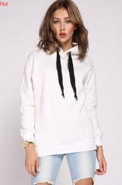 $enCountryForm.capitalKeyWord Canada - New 2016 Hoodies Spring Women Clothing Casual Sweatshirt Fashion Sports Wear Pullover Hoody Girls Hoodies White Army Green Black SV006681