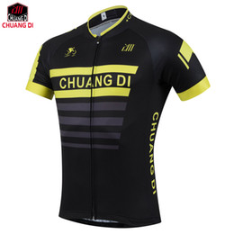 custom bike wear Canada - Wholesale 2018 cycling jersey riding bike clothing bicycle wear short sleeve maillot Quick Dry Custom cycling jerseys