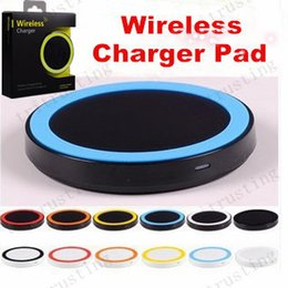 Cell Phone Samsung Galaxy S6 Canada - Q5 Qi Wireless Charger Cell phone Mini Charge Pad For Qi-abled device Samsung Galaxy S3 S4 S5 S6 Note2 3 4 Nokia HTC LG Iphone phone MQ500