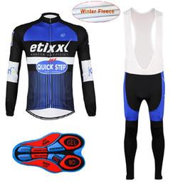 1f9853ef1 2017 team etixx quick step pro cycling winter Thermal Fleece jerseys long- sleeve Racing Bicycle ciclismo cycling clothing bib pants H135