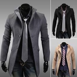 Men's Grey Wool Coat Online | Men's Grey Wool Coat for Sale
