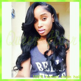 $enCountryForm.capitalKeyWord Canada - Cheap Brazilian Virgin Full Lace Human Hair Wigs Body Wave For Black Women Full Lace Wig Brazilian With Baby Hair Bleached Knots