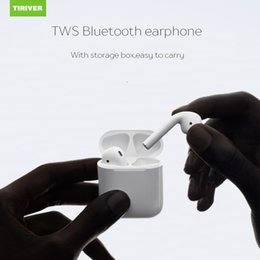 Wireless Earbuds Headphones Canada - TWS Twins Bluetooth Earbuds Mini Wireless Earphones Headset with Mic Stereo V4.2 Headphone for Iphone Android with retail Package