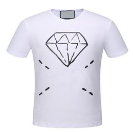 $enCountryForm.capitalKeyWord Canada - Deluxe Italia Men Diamond Printed T Shirt Summer Fashion O-Neck Short Sleeve Polo T-Shirts Mens Casual Top Tees 3XL
