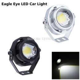 Free Shipping Super Bright Car LED Fog Reverse Ligh,Newest LED Eagle Eye  White Light Daytime Running Tail Backup Light Car Motor
