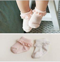 $enCountryForm.capitalKeyWord Canada - 2016 Korean Baby Infants Toddler Girl Socks Lace Princess Stocking Girls Children Floor Antiskid Socks Outwear Sock Kids Clothes 0-4T K6397