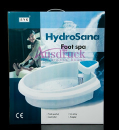 Wholesale Excellent quality DETOX Ionic Cleanse FOOT bath Spa massage machine