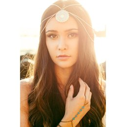 $enCountryForm.capitalKeyWord Canada - Gold Silver Tone Cutout Flower Hairband Head Chain Hair Accessories Jewelry CF152
