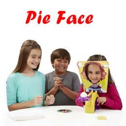 Barato Gags Duplos-One Person or Double Person Pie cake to Face Family Game Showdown Challenge Prank Jokes Gags Anti Stress Toy para crianças