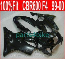 $enCountryForm.capitalKeyWord NZ - New Matte black Body parts for Honda custom fairings CBR 600 F4 1999 2000 Injection molding fairing kit CBR600 F4 99 00 DBIS