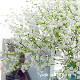 Wedding factory outlet online wedding factory outlet for sale factory outlets gypsophila babys breath super simulation artificial flower pu material plant home wedding decoration 80 buds junglespirit Gallery