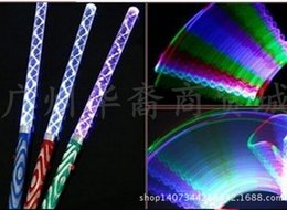 Flashing Wand Toys Canada - New Popular LED Cheer Glow Sticks Colorful Changed Flash Wand For Kids Toys Christmas Concert Birthday Party Supplies