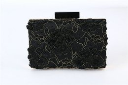 vintage beaded clutch evening bag NZ - 10pc New arrival handmade Vintage beaded cheongsam evening bag Handbag Party club wedding Bridal Clutch Prom Purse wallet cosmetic bag tote