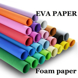 $enCountryForm.capitalKeyWord Canada - EVA Foam Paper 50*50 Handmade Foam Sheets Sponge Paper DIY Handcraft Materials Multicolour Sponge Paper Sheet Punch Foam Crafts