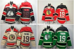 discount sweatshirts hoodies Canada - 2016 New, 2014 New Arrival Style!Discount Chicago Blackhawks hooded Jerseys #19 Jonathan Toews Old Time Hockey Hoodies Sweatshirts fle