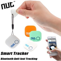 localizador de nozes venda por atacado-2015 Xmas Gift New Nut Marca Inteligente Bluetooth Tracker Child Key Finder Alarme Alarme GPS localizador drop free shiping