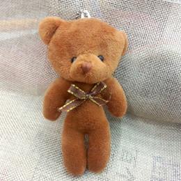 $enCountryForm.capitalKeyWord Canada - Bulk 12cm Stuffed Animals Plush Mini Teddy bear With Bow Mini Urso De Pelucia Oso Promotional gifts