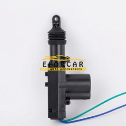 Door lock gun online shopping - New Car Central Locking Wire Single Gun Type Power Door Lock Actuator Motor V Auto Door Locking System Remote Controller