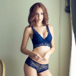 Hot women bra panties online shopping - Colors Hot Sales Sexy Lace Bra Sets Front Closure Bra Hollow out Panties Underwear Women Bra amp Brief Sets