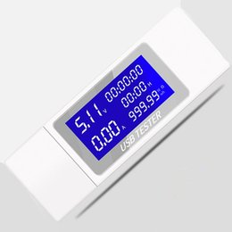 Dc voltage powereD lcD Display online shopping - 9 in LCD Display Mobile Battery V Voltage Current Tester USB Charger Detector Power Meter off