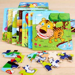 $enCountryForm.capitalKeyWord NZ - Cute Cartoon Animal Wooden Puzzle Intelligence Kids Educational Baby Toys Gift Brain Teaser