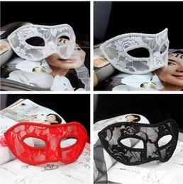 celebrity party masks Australia - Newest Lace mask hand made half-face Venetian Masquerade ball masks Party masks Lace masks party decoration B282-4