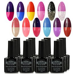 Wholesale 35 Bottle Temperature Mood Color Changing Gel Polish UV Soak Off Long Lasting High Quality Magic Nail Lacquer