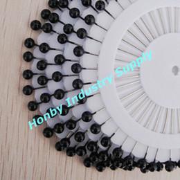 $enCountryForm.capitalKeyWord NZ - 38 mm Nice Black Round Ball Decorative Boutquet Pins For Wedding Decoration 960 pcs per pack