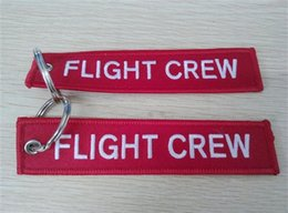 Flight Crew Key Chain Авиационный багаж мотоцикла Pilot Crew Bag Tag 13 x 2.8cm 100шт. Лот