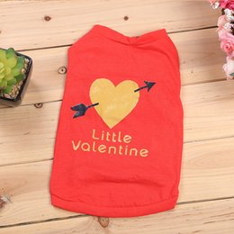 $enCountryForm.capitalKeyWord NZ - Pet Puppy Summer Letter Vest Small Dog Cat Dogs Clothing Cotton T Shirt Apparel Clothes for Dog Puppy Shirt