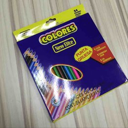 Colouring Pencils For Adult Coloring Books 12 24 36 Colours High Quality DHL Free Shipping